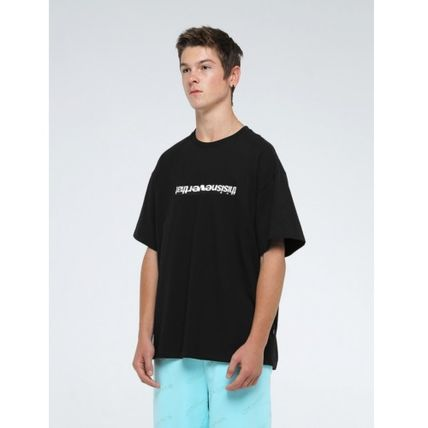 thisisneverthat Crew Neck Crew Neck Unisex Street Style Plain Cotton Short Sleeves 17