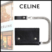CELINE Chain Folding Wallets