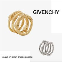 GIVENCHY Brass Elegant Style Rings
