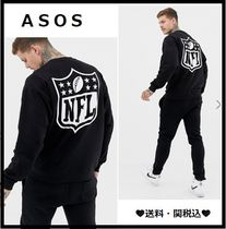 ASOS Crew Neck Pullovers Sweat Street Style Long Sleeves