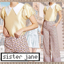Sister Jane Flower Patterns Casual Style Short Sleeves Shirts & Blouses