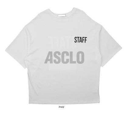 ASCLO More T-Shirts Unisex Plain Cotton Short Sleeves Oversized T-Shirts 11