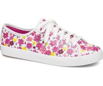 Keds Flower Patterns Rubber Sole Casual Style Collaboration