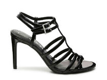 Calvin Klein Leather Heeled Sandals