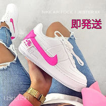 Nike AIR FORCE 1 Platform Plain Toe Casual Style Street Style Plain