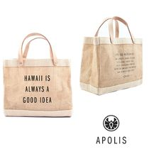 Apolis Plain Handbags