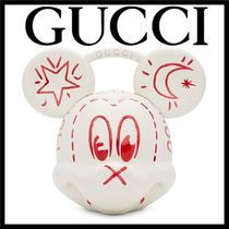 GUCCI Unisex Collaboration Other Animal Patterns Handbags