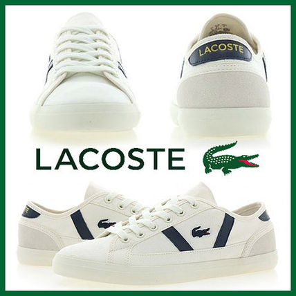 94abf3be1 LACOSTE 2019 SS Casual Style Faux Fur Low-Top Sneakers by トレンド ...