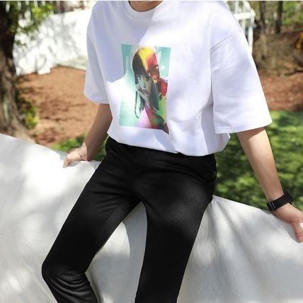 ASCLO More T-Shirts Cotton Short Sleeves Oversized T-Shirts 5