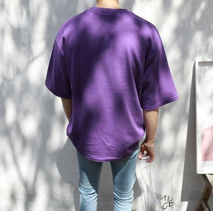 ASCLO More T-Shirts Cotton Short Sleeves Oversized T-Shirts 11