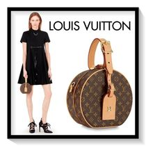 Louis Vuitton Monogram Casual Style Canvas Blended Fabrics Handbags