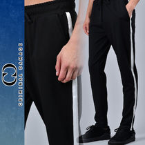 CRIMINAL DAMAGE Stripes Plain Joggers & Sweatpants