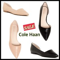 Cole Haan Leather Elegant Style Pointed Toe Shoes