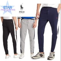 Ralph Lauren Tapered Pants Plain Cotton Tapered Pants