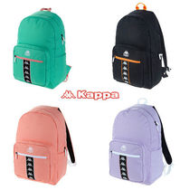Kappa Casual Style Unisex Street Style A4 Backpacks