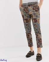 ASOS Paisley Street Style Cotton Skinny Fit Pants