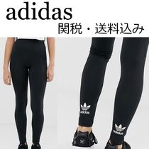 adidas Casual Style Street Style Plain Bottoms