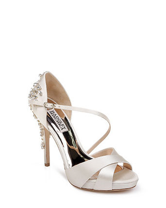 Open Toe Plain Pin Heels With Jewels Elegant Style