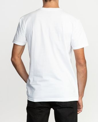 RVCA More T-Shirts Street Style Plain Cotton Short Sleeves T-Shirts 5