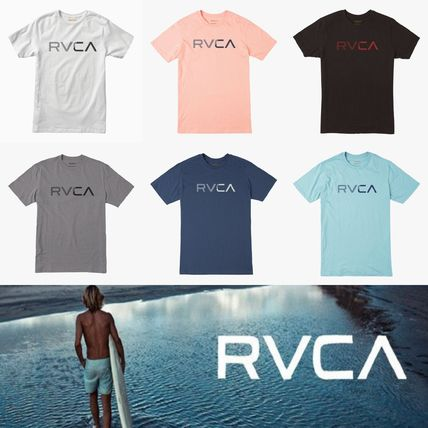 RVCA More T-Shirts Street Style Plain Cotton Short Sleeves T-Shirts
