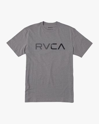 RVCA More T-Shirts Street Style Plain Cotton Short Sleeves T-Shirts 8