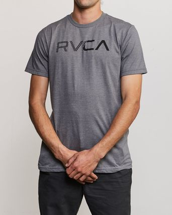 RVCA More T-Shirts Street Style Plain Cotton Short Sleeves T-Shirts 9