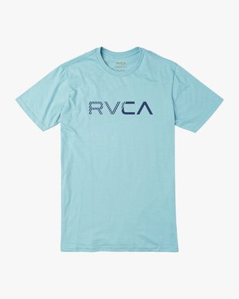RVCA More T-Shirts Street Style Plain Cotton Short Sleeves T-Shirts 10