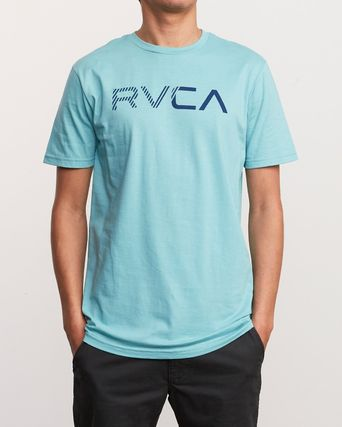 RVCA More T-Shirts Street Style Plain Cotton Short Sleeves T-Shirts 11