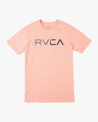 RVCA More T-Shirts Street Style Plain Cotton Short Sleeves T-Shirts 14