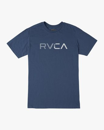 RVCA More T-Shirts Street Style Plain Cotton Short Sleeves T-Shirts 16