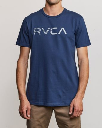 RVCA More T-Shirts Street Style Plain Cotton Short Sleeves T-Shirts 17