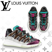 Louis Vuitton Other Check Patterns Monogram Blended Fabrics Street Style