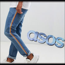 ASOS Stripes Denim Plain Jeans & Denim