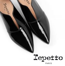 repetto Enamel Flats
