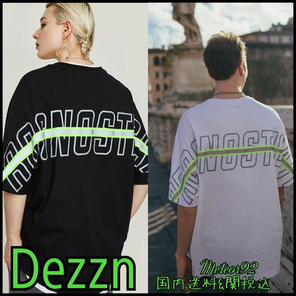 Dezzn More T-Shirts Street Style Short Sleeves T-Shirts