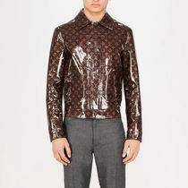 Louis Vuitton Monogram Leather Jackets