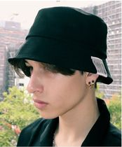 SLEEPY SLIP Unisex Street Style Bucket Hats Wide-brimmed Hats