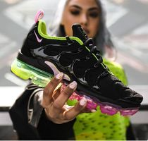 Nike Vapor Max Round Toe Rubber Sole Lace-up Casual Style Street Style