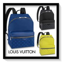 Louis Vuitton Monogram Canvas Blended Fabrics A4 Backpacks