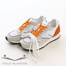 VOILE BLANCHE Suede Plain Sneakers