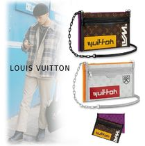 Louis Vuitton 2019-20AW MONOGRAM LOGO MESSENGER BAG marron, bron bag