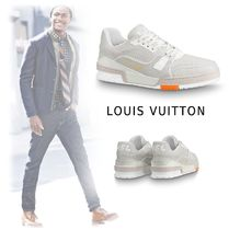 Louis Vuitton 2019-20AW LOWCUT SNEAKERS LV TRAINER white 5.0-12.0 sneakers