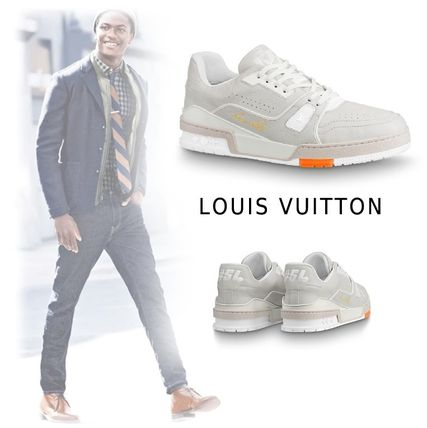 Louis Vuitton Sneakers 2019-20AW LOWCUT SNEAKERS LV TRAINER white 5.0-12.0 sneakers