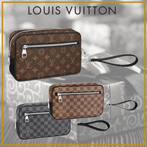 Louis Vuitton Monogram Leather Clutches
