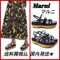 MARNI Open Toe Casual Style Sandals Sandal
