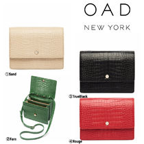 OAD NEW YORK Casual Style 2WAY Plain Shoulder Bags