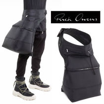 RICK OWENS Unisex Street Style Bags