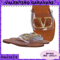 VALENTINO Casual Style PVC Clothing Sandals