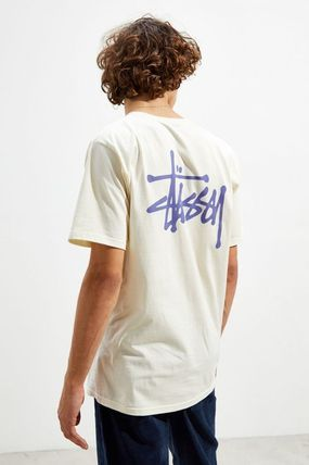 STUSSY Crew Neck Crew Neck Street Style Short Sleeves Crew Neck T-Shirts 3