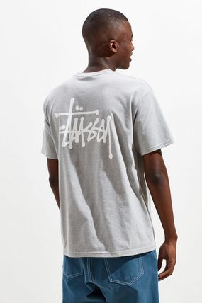 STUSSY Crew Neck Crew Neck Street Style Short Sleeves Crew Neck T-Shirts 5
